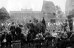 No more war demonstration in Berlin, 1922