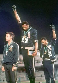 Peter Norman, Tommie Smith and John Carlos