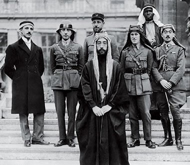 Faisal at the Paris Peace Conference