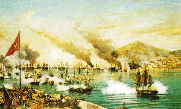 Battle of Navarino Bay, 1827