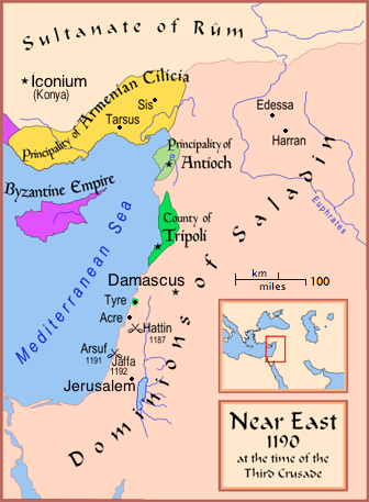 The Near East in 1190