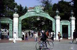 Sather Gate, UC Berkeley.