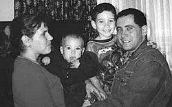 Elian Gonzales united with his father