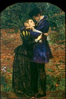 Painting by Millais