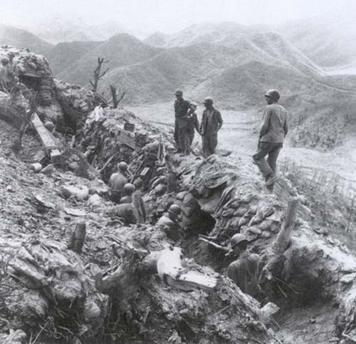 Trenches in Korea
