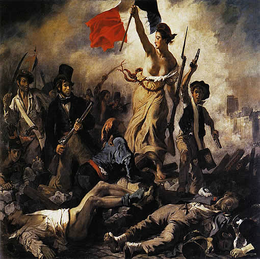 Liberty by Delacroix