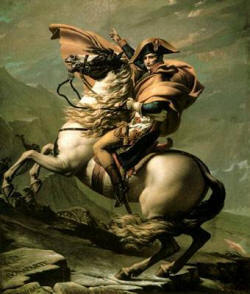 Napoleon across the Alps
