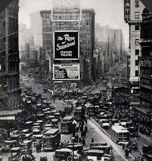 Times Square 1922