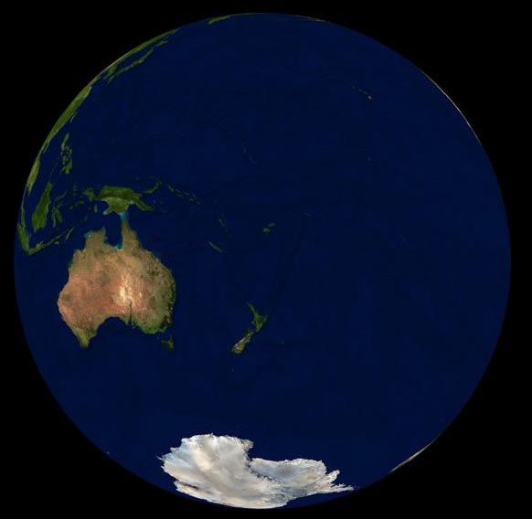 NSA photo of Oceania