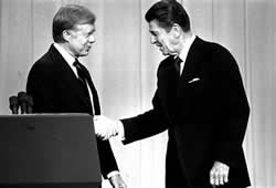 Carter and Reagan
