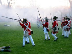 Lexington reenactment