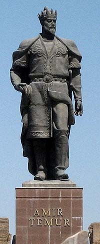 statue of Tamerlane