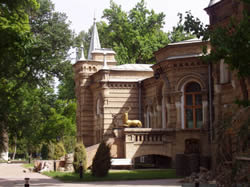 The palace of Prince Romanov in Tashkent
