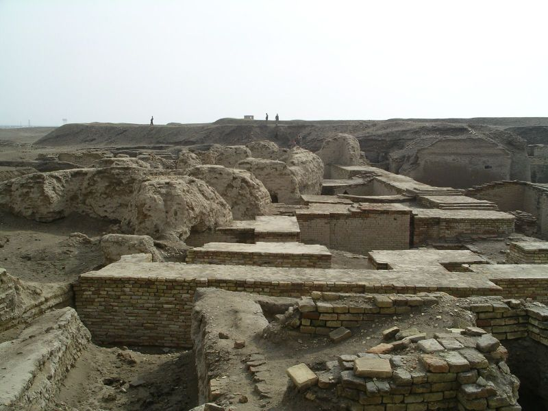 Ruins of Royal Tombs at Ur