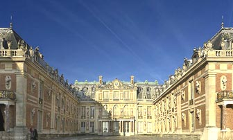 The Versailles Palace front door