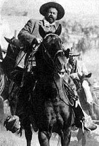 Poncho Villa on horseback