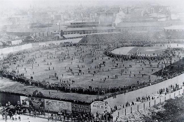 first baseball World Series