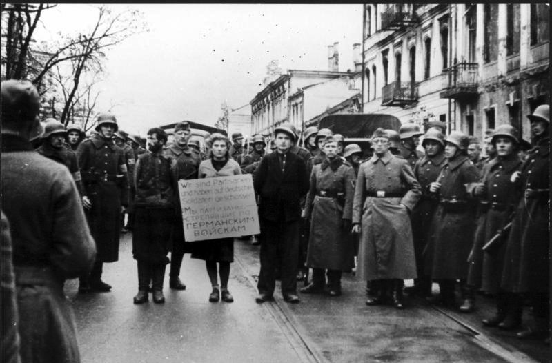 German occupation of Belarus