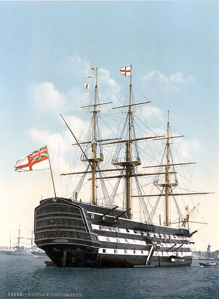 The British Warship HMS Victory