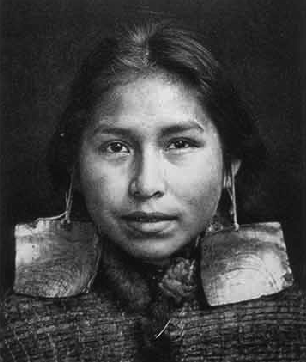 Kwakwaka'wakw young woman