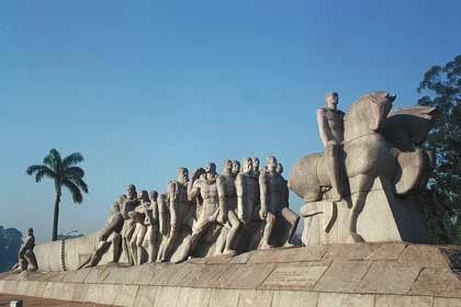 Monument to the bandeirantes