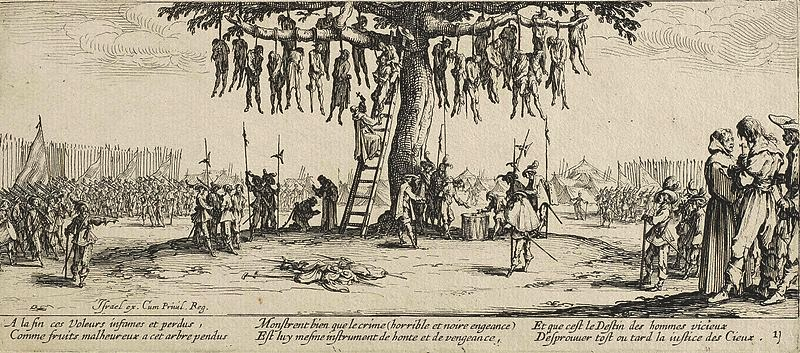 The Hanging, by Jacquest Callot