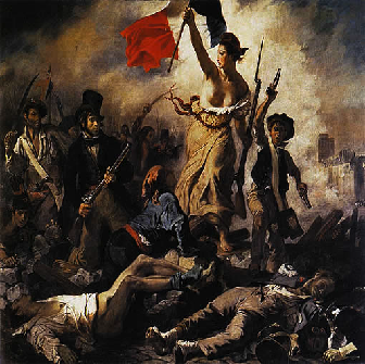 Liberty at the barricades
