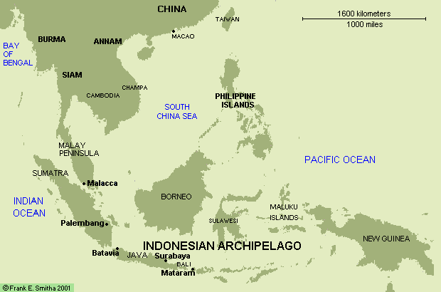 Map: Indonesia Archipelago