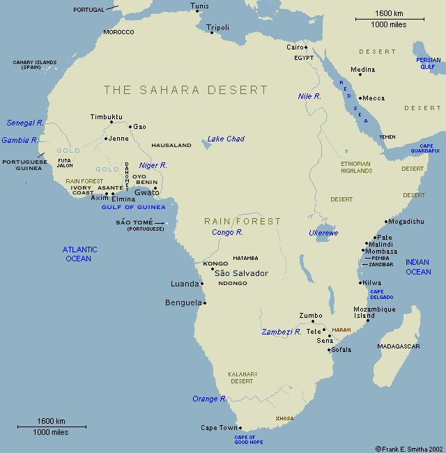 Africa, to the year 1800