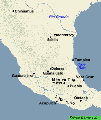 Map: Central Mexico
