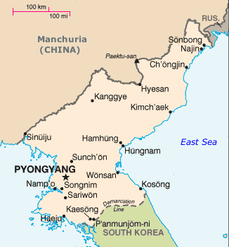 North Korea and neighboring states